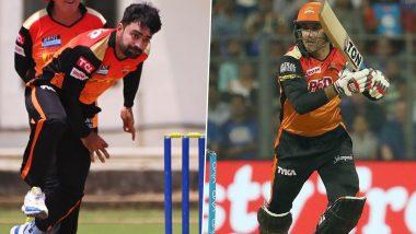 IPL 2021: राशिद खान व मोहम्मद नबी UAE टप्प्यात खेळणार? अफगाणिस्तान खेळाडूंवर सनरायझर्स हैदराबादने जाहीर केले निवेदन