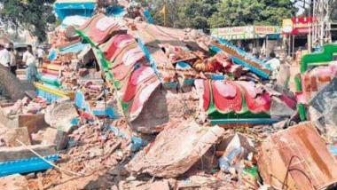 Pakistan: मंदिराची तोडफोड केल्याने हिंदूंनी संताप व्यक्त करत 'जय श्रीराम' च्या घोषणा देत केले आंदोलन
