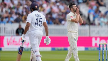IND vs ENG 2nd Test Day 4: आधी खाल्ला षटकार त्यानंतर इंग्लिश गोलंदाजाने रोहित शर्माशी 'असा' केला हिशोब चुकता! (Watch Video)