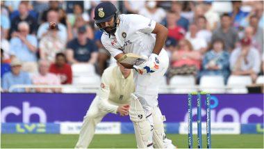 IND vs ENG 3rd Test Day 3: इंग्लंड गोलंदाजांवर रोहित-पुजारा पडले भारी, Tea पर्यंत टीम इंडियाची शतकी मजल पण अद्याप 242 धावांनी पिछाडीवर