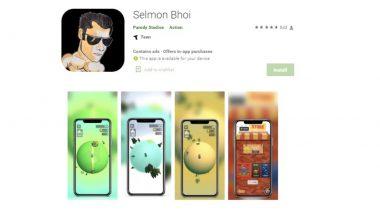 Selmon Bhoi Game: सलमान खान याच्या हिट अँड रन प्रकरणावर बनला गेम, Play Store वरही व्हायरल,  4.7 रेटींग