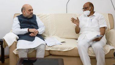 Sharad Pawar meets Amit Shah: शरद पवार यांनी सांगितला अमित शाहा यांच्यासोबतच्या बैठकीचा तपशील