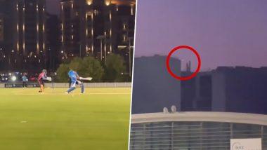 IPL 2021: दुखापतीतून पुनरागमन करत Shreyas Iyer विरोधी संघाला आस्मान दाखवण्यास सज्ज, खेचला खणखणीत सिक्स (Watch Video)