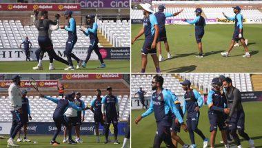 IND vs ENG: इंग्लिश 'कसोटी'पूर्वी टीम इंडियाची मौज-मस्ती, रोहित शर्माचा अनोखा खेळ खेळत खेळाडू हसून हसून लोटपोट (Watch Video)