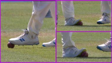 IND vs ENG 2nd Test: भारताविरुद्ध लॉर्ड्सवर चौथ्या दिवशी इंग्लंड खेळाडूंवर Ball Tampering चा आरोप, पाहा व्हायरल फोटोज