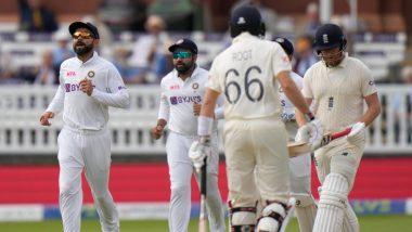 IND vs ENG 2nd Test Day 5: लॉर्ड्स कसोटी रोमांचक वळणावर; Tea पर्यंत इंग्लंडची 67/4 धावांपर्यंत मजल, टीम इंडिया 6 विकेट्स दूर