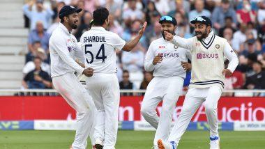 IND vs ENG 1st Test Day 1: इंग्लंडचा पहिला डाव 183 धावांवर आटोपला, पहिल्या दिवसाखेर टीम इंडिया भक्कम स्थितीत