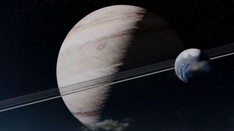 Saturn's Closest Approach to Earth: पृथ्वी आणि शनि आज 1 वर्ष 13 दिवसांनी येणार जवळ; पहा  या अदभूत नजार्याची भारतातील  वेळ आणि इतर वैशिष्ट्यं!