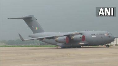 Afghanistan Crisis: 107 भारतीयांसह 168 प्रवाशांना घेऊन Indian Air Force's C-17 Aircraft गाझियाबाद मध्ये सुरक्षित दाखल