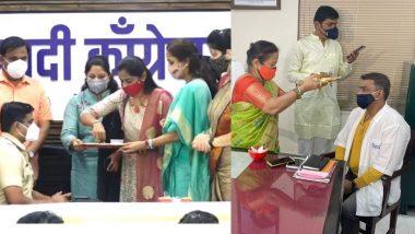 Raksha Bandhan 2021: मुंबई महापौर किशोरी पेडणेकर, खासदार सुप्रिया सुळे यांचे कोविड योद्द्यांना राखी बांधून यंदा रक्षाबंधन सेलिब्रेशन!