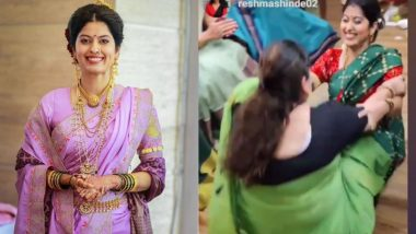 Abhidnya Bhave First Mangalagaur: अभिज्ञा भावे ने 'अशी' साजरी केली तिची पहिली मंगळागौर!
