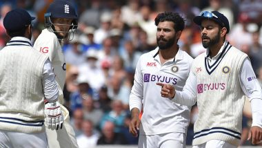 IND vs ENG 2nd Test: वेगवान गोलंदाजांना अनुकूल परिस्थितीत कोहलीने फिरकीपटू रवींद्र जडेजा याच्याकडे सोपवला बॉल, ICC चे नवीन धोरण ठरले मुख्य कारण