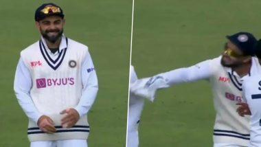 IND vs ENG 2nd Test: बिचारा कोहली! इंग्लिश कर्णधारविरुद्ध Rishabh Pant ने विराटला DRS घेण्यासाठी 'असे' केले मना, मजेदार व्हिडिओ झाला व्हायरल
