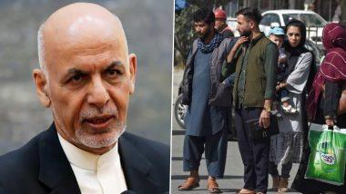 Afghanistan Crisis: राष्ट्रपती अशरफ गनी यांनी देश सोडल्यानंतर तालिबानच्या भीतीने नागरिकांची धावपळ, विमानतळासह रस्त्यावर तुफान गर्दी
