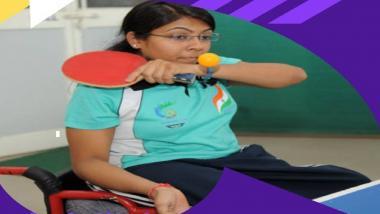 Tokyo Paralympics 2020: भारताची महिला टेबल टेनिस खेळाडू भाविना पटेलची अंतिम फेरीत धडक, रोप्य पदक झालं निश्चित