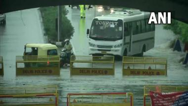 Delhi Rain Update: दिल्ली-एनसीआरमच्या अनेक भागात मुसळधार पाऊस, राजधानीत ऑरेंज अलर्ट जारी