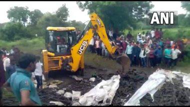 Buldhana Road Accident: ट्रक उलटून भीषण अपघात; 12 मजूरांचा मृत्यू
