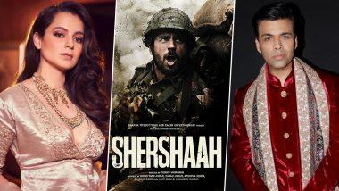 Kangana Ranaut ला भावला Karan Johar चा Shershaah सिनेमा; भांडण विसरुन केले भरभरुन कौतुक (View Post)