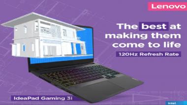 Lenovo IdeaPad Gaming 3i: लेनोवोचा आयडियापॅड गेमिंग 3i लॅपटॉप भारतीय बाजारात लाँच, पहा किंमत आणि वैशिष्ट्ये