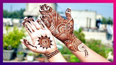 Raksha Bandhan 2021 Quick Mehndi Designs: रक्षाबंधन निमित्त हातावर काढा 'या' कमी वेळात काढता येणाऱ्या  सोप्या मेहंदी डिझाइन