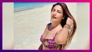 Surbhi Chandna हिचे मालदिव येथील Snake Print Bikini मधील सेक्सी फोटो व्हायरल (View Pics)