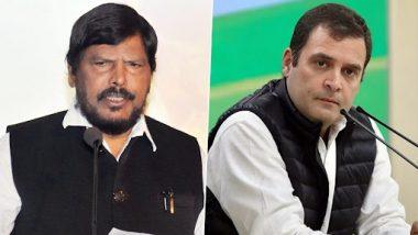 Monsoon Session of Parliament 2021: राहुल यांना लोकसभेतून वर्षभरासाठी निलंबित करा- रामदास आठवले