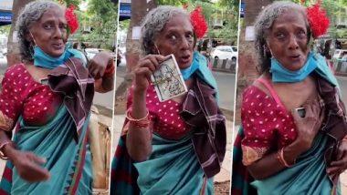 Viral Video: Bengaluru मध्ये कचरा वेचाणार्या महिलेचा अस्खलित आणि भावस्पर्शी अंदाजातील  English Speaking Skill चा व्हिडिओ सोशल मीडीयात वायरल (Watch Video)