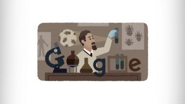 Rudolf Weigl 138th Birthday Google Doodle:  महामारीविरोधात पहिली लस शोधणाऱ्या रुडॉल्फ वेगल यांच्या 138 व्या जयंती निमित्त गुगलचे डूडल द्वारे अभिवादन