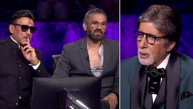 KBC 13: Suniel Shetty ने शेअर केला Amitabh Bachchan यांच्यासोबतच्या पहिल्या भेटीचा किस्सा (Watch Video)