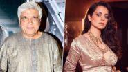 Kangana Ranaut ने Javed Akhtar विरुद्ध दाखल केली Counter Complaint;  केले 'हे' आरोप