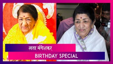 Lata Mangeshkar Birthday Special: लता मंगेशकर होणे नव्हते सोपे, दिवसभर करायच्या गण्याची रेकॉर्डिंग