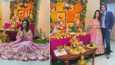 Ganeshotsav 2021: सनी लियोनीने केली गणपतीची प्रतिष्ठापणा, Instagram वर फोटो केले शेअर
