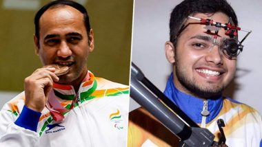 Tokyo Paralympics 2020: 50m शूटिंगमध्ये Manish Narwal ची सुवर्ण पदकाला गवसणी; Singhraj ला रौप्य पदक