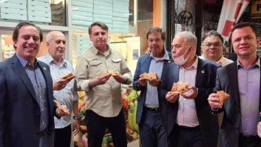 ब्राझीलचे राष्ट्राध्यक्ष Jair Bolsonaro यांना न्यूयॉर्कच्या रेस्टॉरंटमध्ये नाकारला प्रवेश; फुटपाथवर उभे राहून खावा लागला पिझ्झा, जाणून घ्या कारण