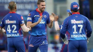 IPL 2021: हैदराबादविरुद्ध Anrich Nortje भेदक गोलंदाजी, टाकला हंगामातील सर्वात वेगवान आणि खतरनाक चेंडू