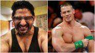 WWE स्टार John Cena याने शेअर केले Arshad Warsi याचे फोटो; सोशल मीडियावर युजर्सकडून भन्नाट प्रतिक्रिया