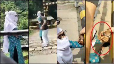 Auto Rickshaw Driver Saves Woman: रिक्षाचालकाने वाचवले ट्रेनखाली आत्महत्या करणाऱ्या उच्चशिक्षित तरुणीचे प्राण (Watch Video)
