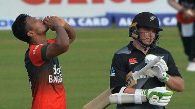 BAN vs NZ 1st T20I: बांग्लादेश गोलंदाजांनी केला कहर, अननुभवी न्यूझीलंड पहिल्या टी-20 सामन्यात 60 धावांवर ढेर
