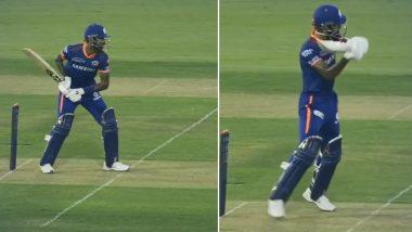 IPL 2021 in UAE: दे घुमा के! दुसऱ्या टप्प्यापूर्वी मुंबई इंडियन्सचा अष्टपैलू संपूर्ण लयीत, मारला 'हेलिकॉप्टर शॉट' (Watch Video)