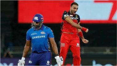 IPL 2021, RCB vs MI: मुंबई इंडियन्सविरुद्ध Harshal Patel ची जबरदस्त हॅटट्रिक, सलग तीन चेंडूवर 'या' स्टार खेळाडूंना केले धराशायी (Watch Video)