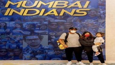 IPL 2021: मुंबई इंडियन्सचे खेळाडू पोहोचले अबू धाबीमध्ये, सुर्यकुमार यादव आणि रोहित शर्मा यांनी फोटो केला शेअर