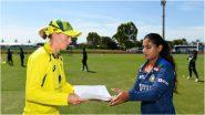 AUS-W vs IND-W 3rd ODI Live Streaming: भारत विरुद्ध ऑस्ट्रेलिया महिला यांच्यातील तिसऱ्या वनडे सामन्याचे लाईव्ह प्रक्षेपण कुठे पाहायचे जाणून घ्या