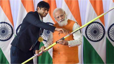 PM मोदींना मिळालेल्या भेटवस्तूंचा लिलाव; नीरजच्या भाल्याची 1 कोटी तर सिंधूची रॅकेट, राणी रामपालच्या हॉकीची आहे इतकी किंमत