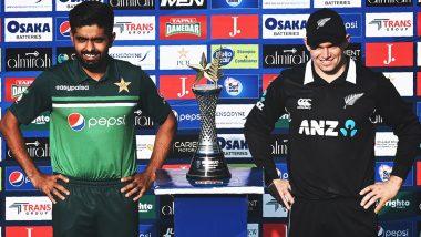 PAK vs NZ 1st ODI: पाकिस्तान-न्यूझीलंड वनडे सामना सुरू होण्यास विलंब, खेळाडूंना खोल्यांमध्ये राहण्याच्या सूचना