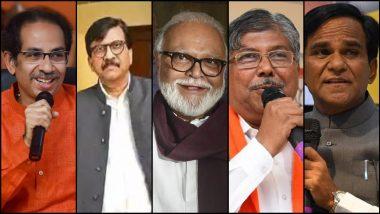 Politics of Maharashtra: कोणाला कुठे जायचंय? मुख्यमंत्री उद्धव ठाकरे, संजय राऊत, छगन भुजबळ यांची चंद्रकांत पाटील, रावसाहेब दानवे यांच्यावर टोलेबाजी