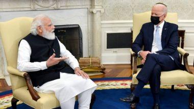 Quad Summit 2021: क्वाड परिषदेत पंतप्रधान नरेंद्र मोदी आणि जो बायडन यांच्यात विविध मुद्द्यांवर चर्चा