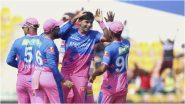 IPL 2021, DC vs RR: राजस्थानचा वेग पाहून दिल्लीचे वाघ गारद; रॉयल्सला विजयासाठी अवघे 155 धावांचे लक्ष्य