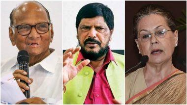 Ramdas Athawale On Sonia Gandhi: पंतप्रधान पदावरुन सोनिया गांधी, शरद पवार यांच्याबाबत केंद्रीय मंत्री रामदास आठवले यांचे मोठे विधान