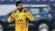 IPL 2021, CSK vs KKR: कोलकाताला मोठा झटका, जडेजाने उडवला Rahul Tripathi चा उडवला, पहा संपूर्ण स्कोर