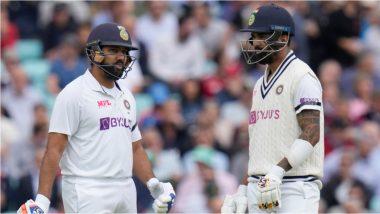 IND vs ENG 4th Test Day 2: ओव्हलवररोहित-राहुलची शानदार सुरुवात, दिवसाखेरीस दुसऱ्या डावात भारताच्या बिनबाद 43 धावा